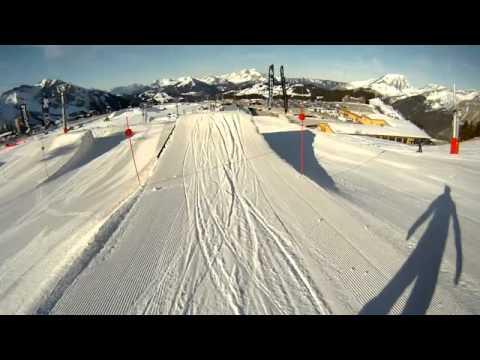Snowboard GoPro Jumps Kickerline Avoriaz.mp4