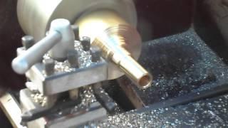 Making mouthpiece for tuba or sousaphone/// fabricacion de bokilla para tuba