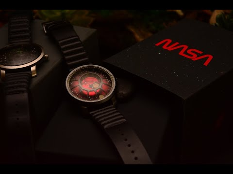 CELESTIAL WATCH REVIEW: Xeric NASA Limited Edition Red Dwarf Vs Xeric Trappist-1 Moonphase Watches