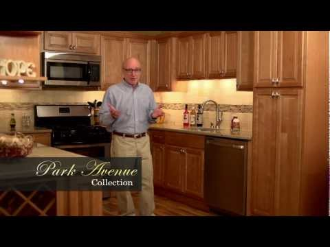 Park Avenue   Honey Maple   Kitchen Cabinets
