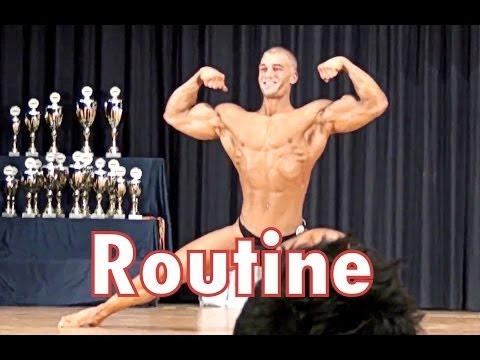 Natural Bodybuilder Mischa Janiec - Posing routine German Nationals 2013