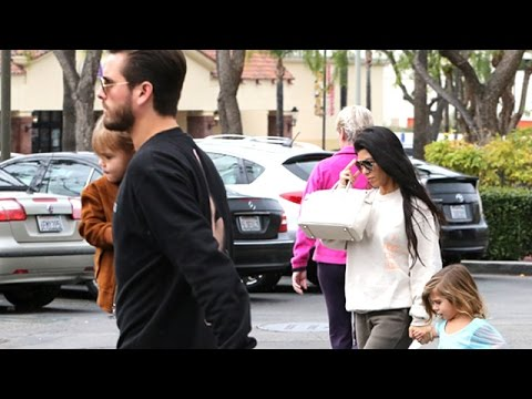 Scott And Kourtney Get A Family Lunch At King's Fish House