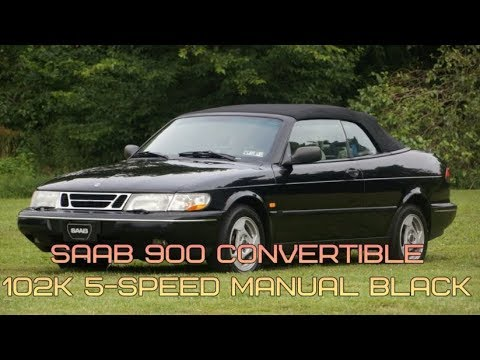 1997 saab 900s convertible 102k 5 speed manual black youtube rh youtube com 1997 saab 900 owners manual 1997 saab 900 owners manual