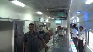 BRAND NEW - STATE OF THE ART - PANTRY CAR - Indian Railways