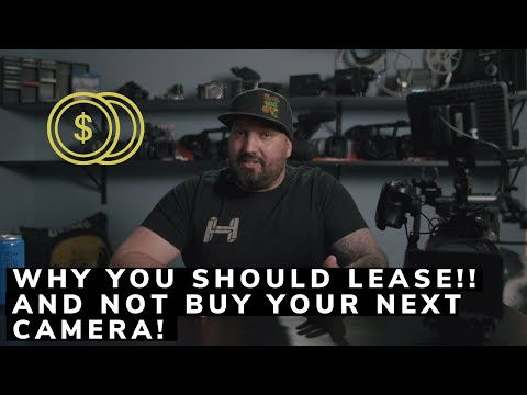 Why you should lease!! and not buy your next camera!