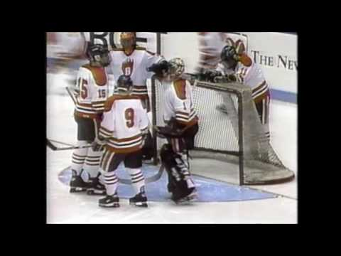 1996 MN State Hockey Tournament Quarterfinals White Bear Lake Bears vs. South St. Paul Packers
