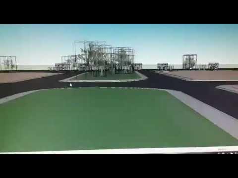 Complejo Tres Lagos 3D
