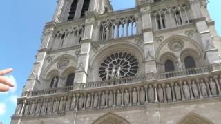 Собор Парижской Богоматери(Видео записано 15 июня 2014., 2016-07-24T06:45:23.000Z)