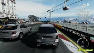 Forza Motorsport 4 Online - Wall Riding - Mercedes ML63 AMG @ Bernese Alps