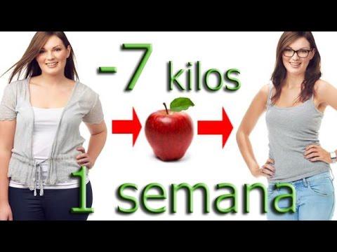 perder 7 kilos en 1 mes