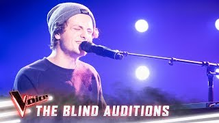 The Blinds: Daniel Shaw sings 'Beneath Your Beautiful' | The Voice Australia Season 8