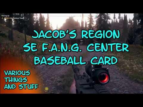 Far Cry 5 Jacobs Region Se Of Fang Center Baseball Card