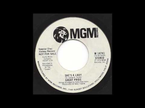 Great Pride - She's A Lady (stereo side) - '74 Funk breaks