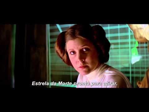 Trailer do filme Star Wars: episódio IV - uma nova esperança