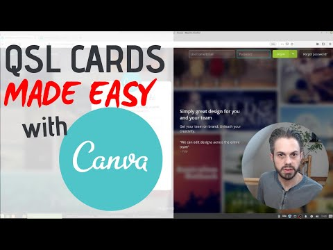 How To Design Your QSL Cards Online With Canva (free And Easy)