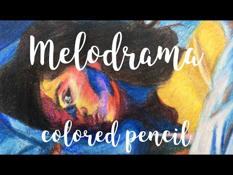 Melodrama (lorde) Colored Pencil