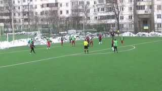 1st half FC Dyusesha-15 (U-21) vs FC Dinaz Vyshgorod 14.02.2015