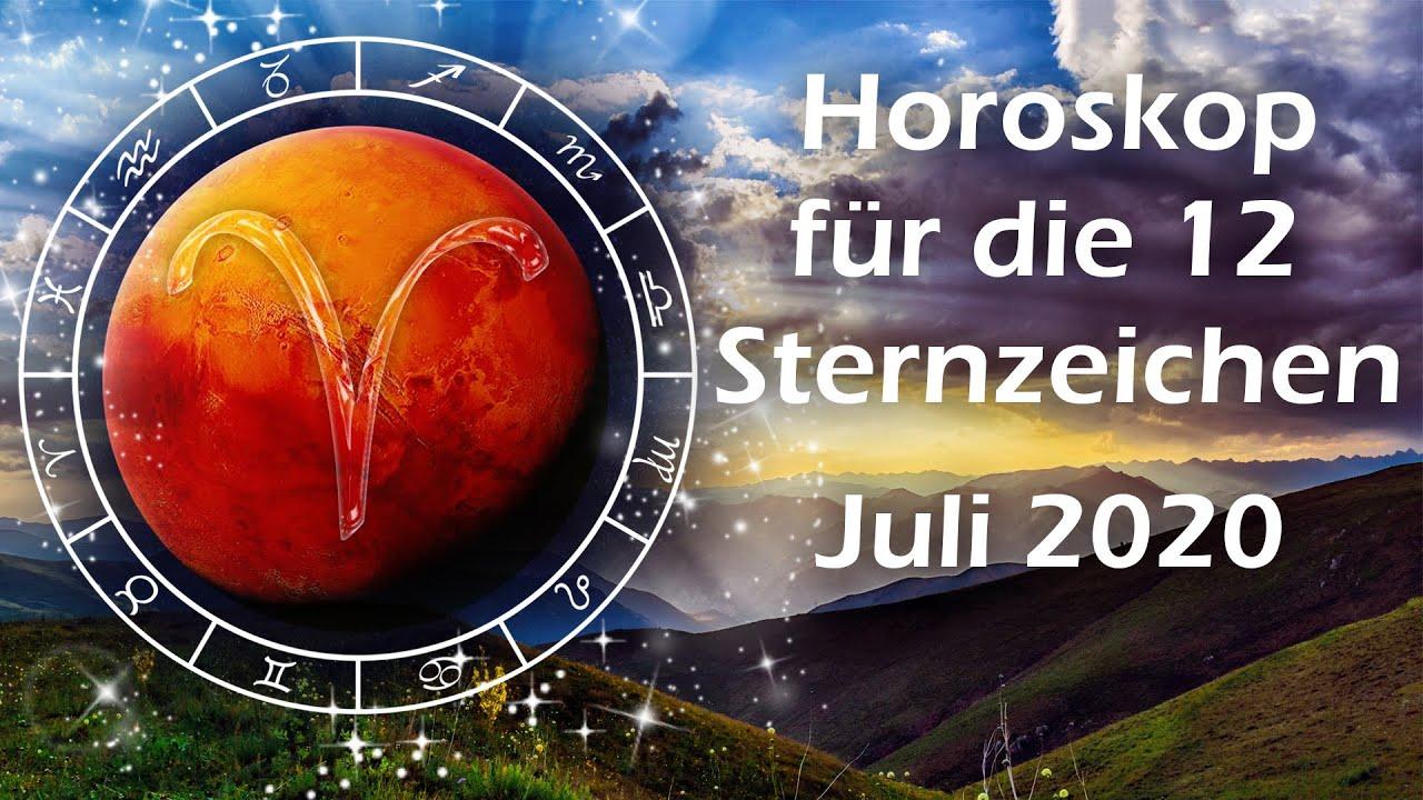 Horoskop für Juli 2020 - alle12 Sternzeichen