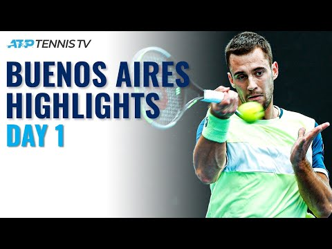 Cecchinato Faces Djere; Local Sensation Tirante Makes ATP Debut | Buenos Aires 2021 Highlights Day 1