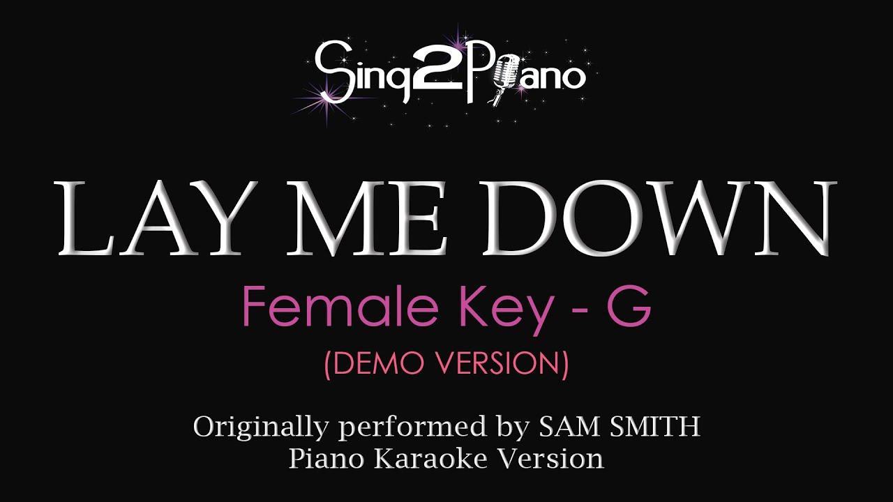 Lay me down female key piano karaoke demo sam smith chords lay me down female key piano karaoke demo sam smith chords chordify hexwebz Images