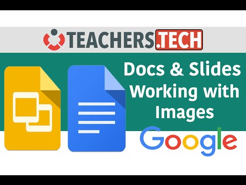 google docs and slides working with images youtube