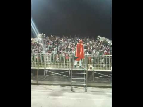 Ely Band in the stands