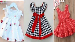 Very Beautiful And Stylish Baby Girl Frock Designs || Beautiful Handmade Summer Dresses Design