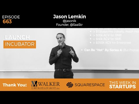 E663: Jason Lemkin shares the early indicators of hyper-growth SaaS & his investment strategies