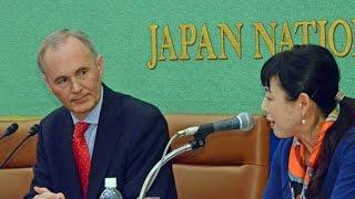 Tim Hitchens, Ambassador to Japan, UK イギリスのヒッチンズ大使が、...