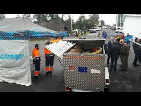 Presentación de los nuevos vehículos de Emerxencas en O Incio