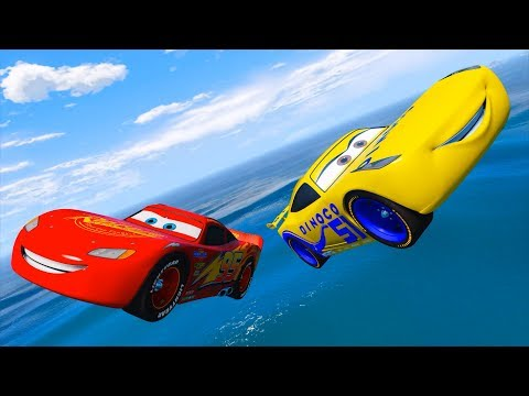Thumbnail: Cars Party Lightning Mcqueen Cruz Ramirez Dinoco and Friends Disney Pixar Cars 3 & Songs