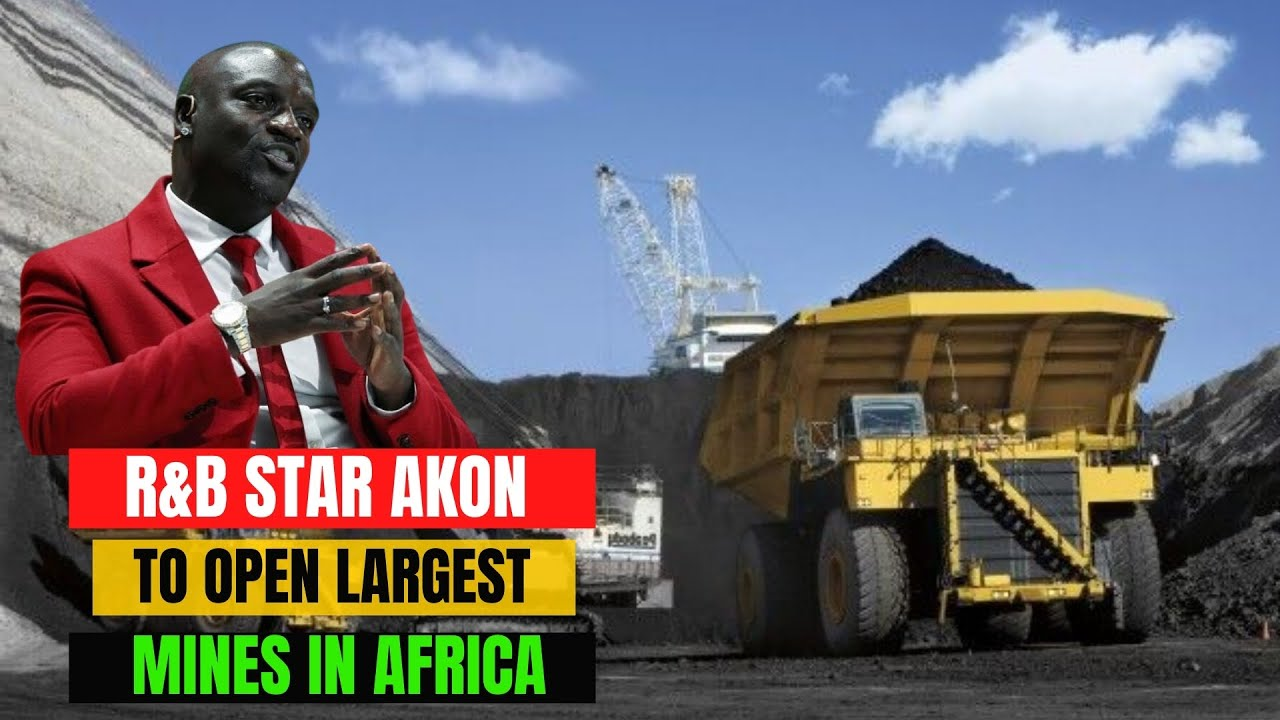 R&B Star Akon Signs Deal To Open Largest Mines In DR Congo