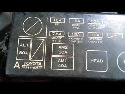 [DVZP_7254]   1989 Toyota truck blower motor fuse location - YouTube | 1990 Toyota 4runner Fuse Diagram |  | YouTube