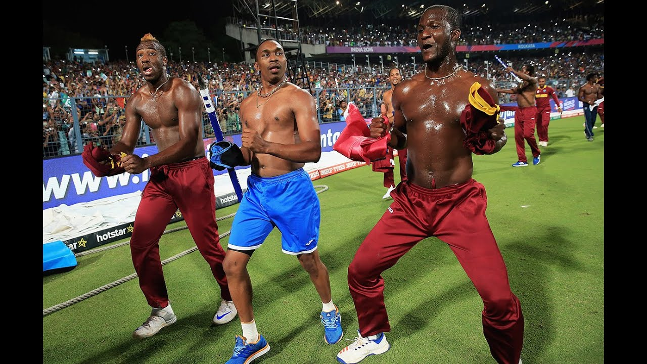 West Indies Celebration After Won T20 World Cup 2016, Eng V West Indies Is The Best
