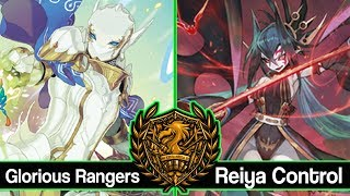 Glorious Rangers Vs. Reiya Control : Force of Will (TCG) Feature Match