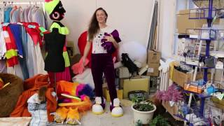 как сделать ростовую куклу Ёжик / МК Изготовление ростовых кукол iclowns.ru