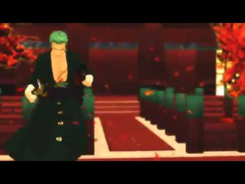 【MMD】ZORO【怪異物ノ怪音楽箱】【One Piece】