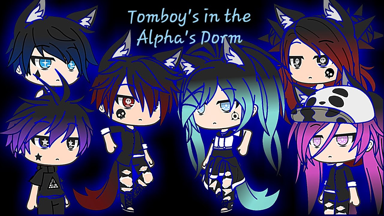 Download Three Tomboy's Living in the Alpha's Dorm    Episode 8    Gacha life mini series    PuppiesNsoccer_