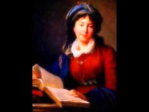 """Anna Bon - Aria for soprano """"Astra coeli iam intonate"""""""