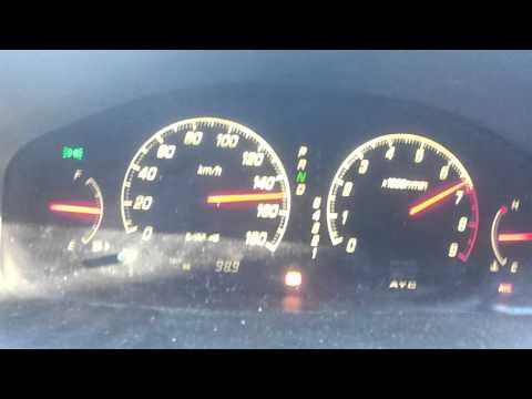 Mitsubishi Galant vr4 0-200kmh Acceleration
