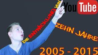 Entwicklung von YouTube - 10 Jahre YouTube