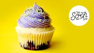 Blueberry Lemon Cupcakes - The Scran Line