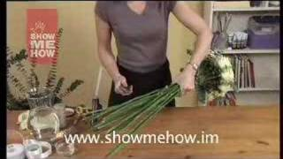How To Create Wedding Flowers (bouquets,buttonholes,display)