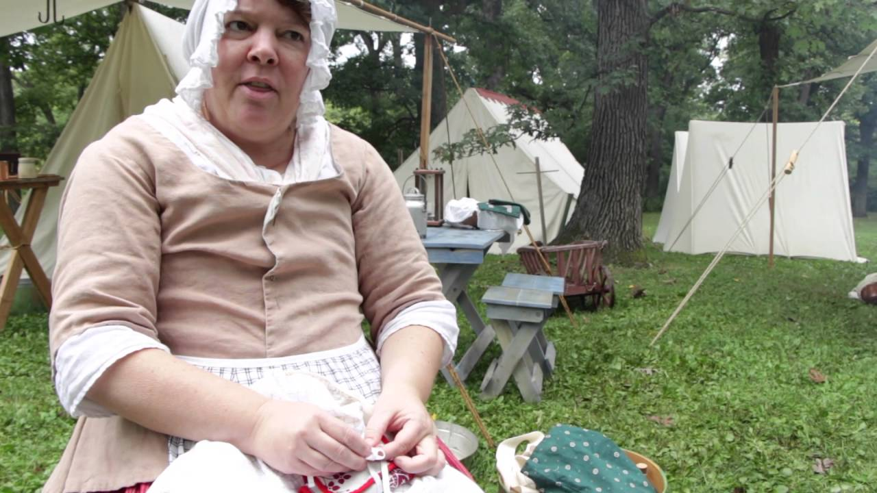 Woman's clothing and duties during the Revolutionary War