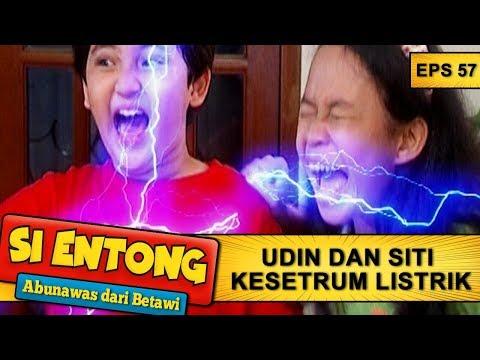 Udin Dan Siti Kesetrum Listrik – Si Entong Abunawas Dari Betawi Eps 57 Part 1