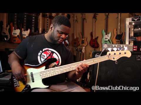 Sadowsky & DNA Amps 1350 Bass Groove At Bass Club Chicago By Shaun Gotti