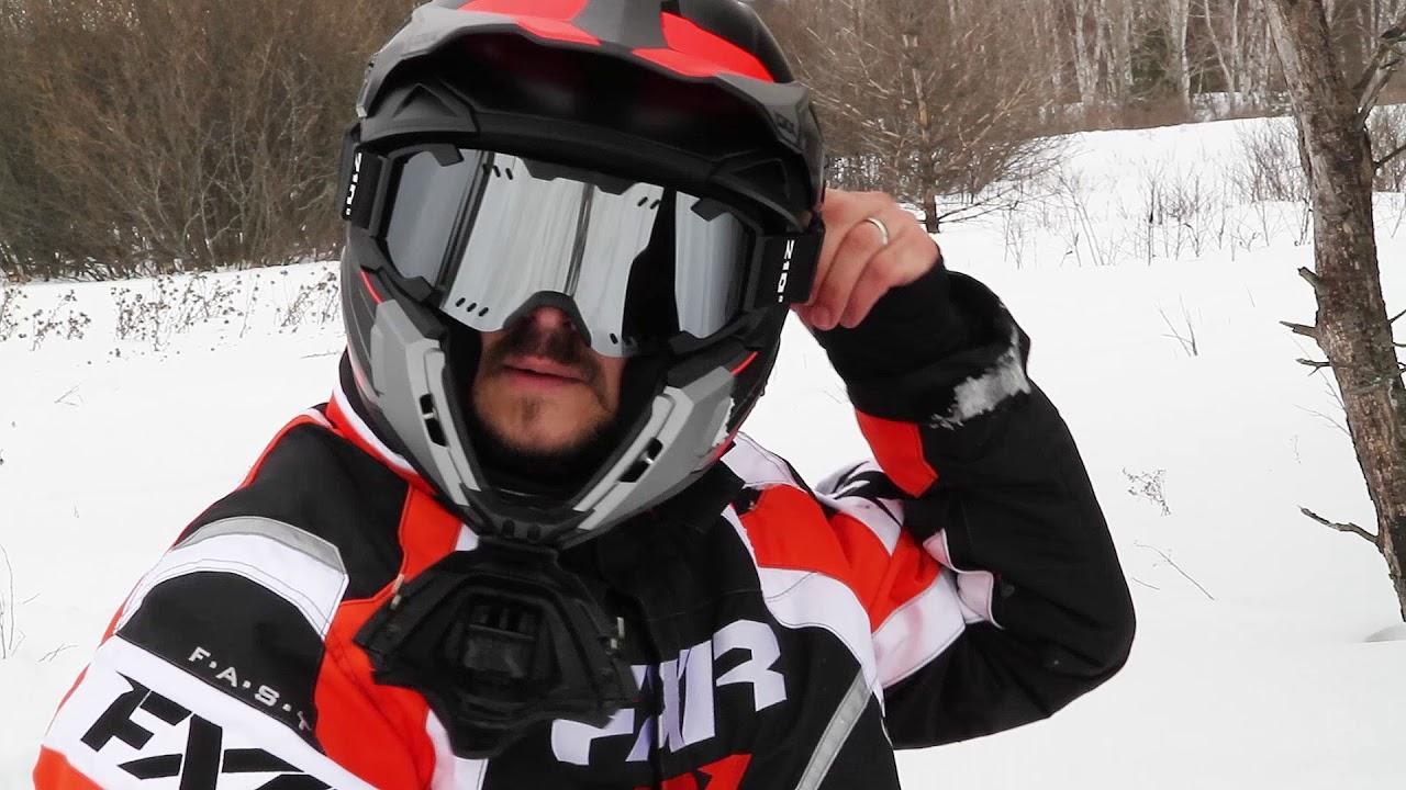 fc6734a0c05 3SIXTY NORTH - CKX TITAN Helmet Review - YouTube
