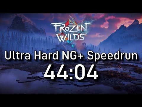 Horizon Zero Dawn Speedrun: The Frozen Wilds NG+ Ultra Hard In 44:04 [Former WR]