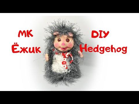 #1 Ёжик из капрона  DIY Hedgehog. Made Of Nylon