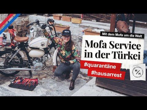 Quarantäne-Mofa-Service | #hausarrest in der Türkei